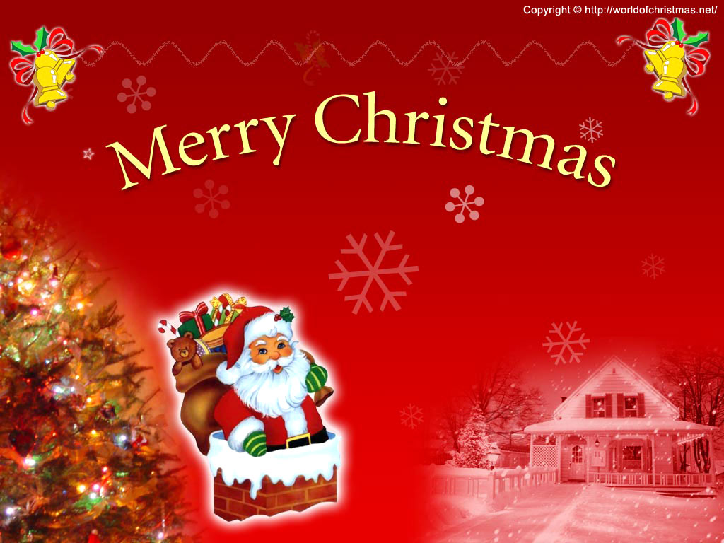 Merry Christmas Wallpaper - Free Christmas Wallpaper Download, Free ...