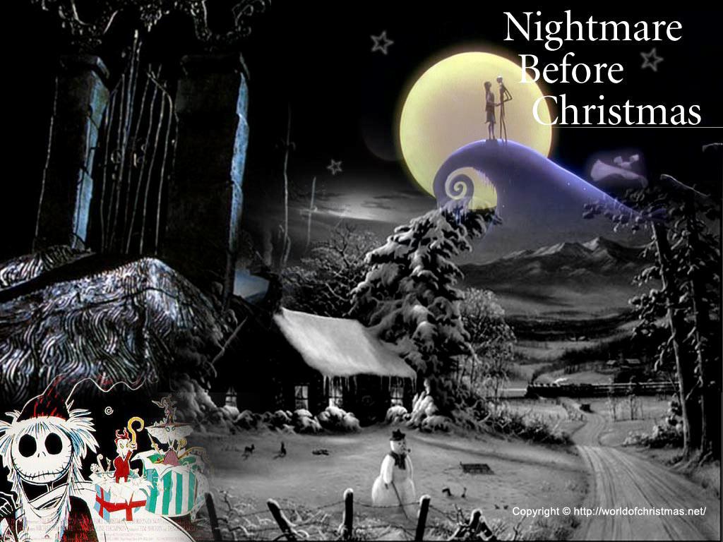Nightmare Before Christmas Wallpaper Free Nightmare Before
